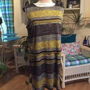 RMLL 18W polyester spandex Sheath sleeveless Dress